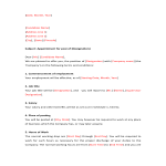 template topic preview image Job Appointment Letter Format
