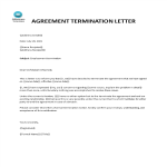 template topic preview image Employment Agreement Termination letter