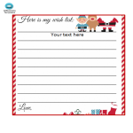 template preview imageChristmas Wish List Template