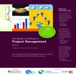 template topic preview image Masters Certificate In Project Management