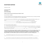 template topic preview image Eviction Notice Letter