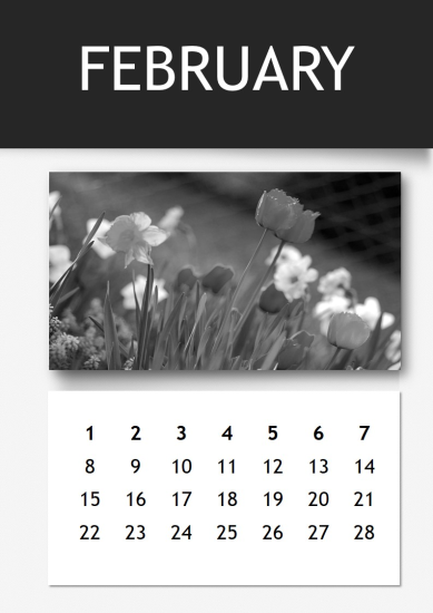 template topic preview image Annual Calendar 2019 PPT Template