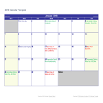 template topic preview image Printable Calendar example