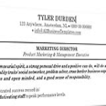 template topic preview image Classic Resume Sample