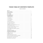 template preview imageResearch Table of Contents Template