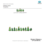 template preview imageChristmas Tree Letter