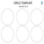 template topic preview image Circle template with 10cm diameter