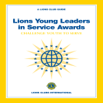 template topic preview image Young Leaders In Service Award