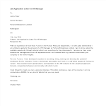 template topic preview image Job Application Letter For Hr Manager