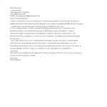template topic preview image Summer Teaching Cover Letter