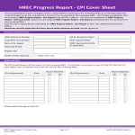 template topic preview image Performance Progress Report Cover Page Sheet