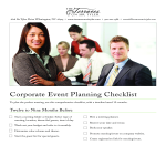 template topic preview image Corporate Event To Do List