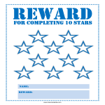 template topic preview image Star Reward Chart for Kids