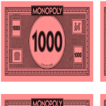 template preview imageMonopoly Money 1000 Bill