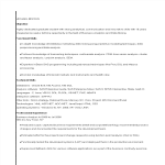 template topic preview image Banking Business Analyst Resume example