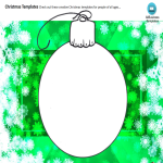 template preview imageChristmas Ornaments Balls Coloring Page