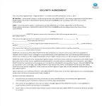 template topic preview image Security Agreement Template