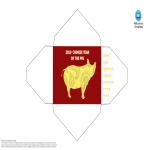 template topic preview image Chinese New Year Pig Red Envelope