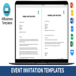 template topic preview image Brief invitation message to stranger for event
