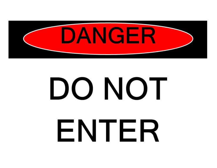 template preview imageDanger Sign