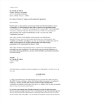 template topic preview image Business Letter Of Intent Vaccine business