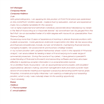 template topic preview image Cover Letter with Work Experience