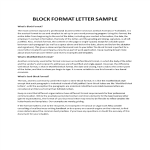 template topic preview image Block Letter Format