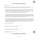 template topic preview image Lease Termination Agreement