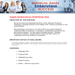 template topic preview image Sales Plan Medical Devices