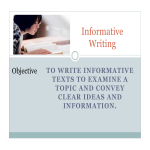 template topic preview image Sample Short Informative Essay