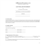 image Last Will & Testament template