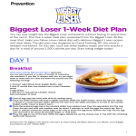 template topic preview image Weekly Weight Loss Chart template