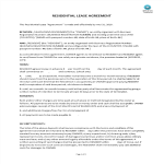 image Basic Residential Lease Agreement