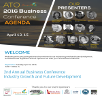 template topic preview image Business Conference Speakers Agenda