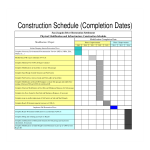 template topic preview image Construction Schedule Sample
