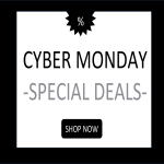 template topic preview image Cyber Monday Sales Poster