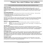 template topic preview image Formal Job Interview Thank You Letter
