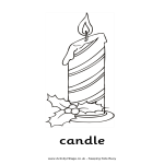 template topic preview image Candle Drawing