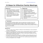 template topic preview image Family Agenda Sample