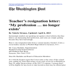 template topic preview image Sample Resignation Letter For Teacher With Reason