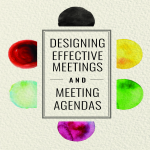 template topic preview image Designing Effective Meeting Agenda Sample
