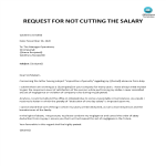 template topic preview image Salary reduction response letter