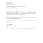 template topic preview image Professional Resignation Letter With Reason