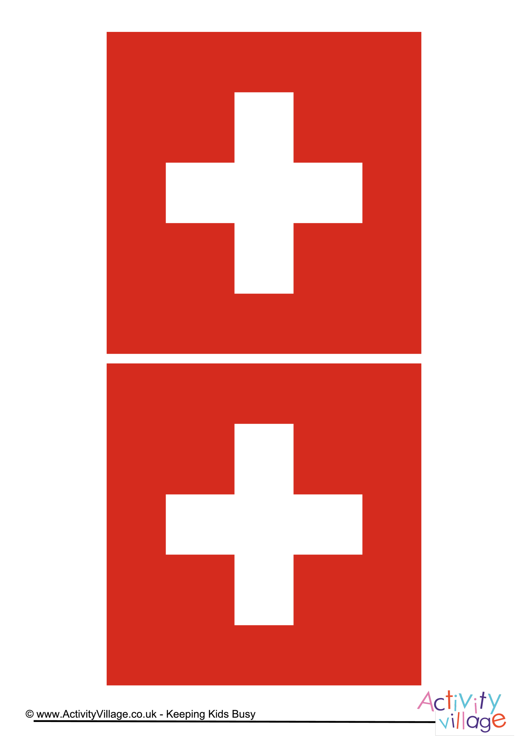 template preview imageSwitzerland Flag