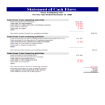 template topic preview image Cash flow statement format