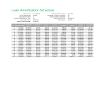 template topic preview image Loan Amortization Template excel worksheet