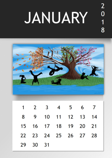 template topic preview image Photo Calendar Template