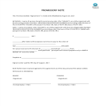 template topic preview image Promissory Note Template