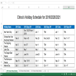 template topic preview image 2019 Official Mainland China Holiday Calendar