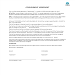 image Consignment Agreement sample